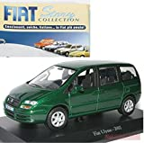 EDICOLA Fiat Ulysse 2002 MODELLINO Die CAST 1:43 Norev Model +fas Fiat Story Collection