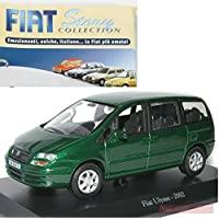 Fiat Ulysse 2002 MODELLINO DIE CAST 1:43 Norev MODEL +fas Fiat Story Collection