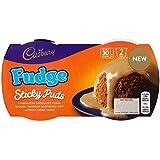 Cadbury Pudín De La Esponja Fudge 2 Por Paquete (Paquete de 6)