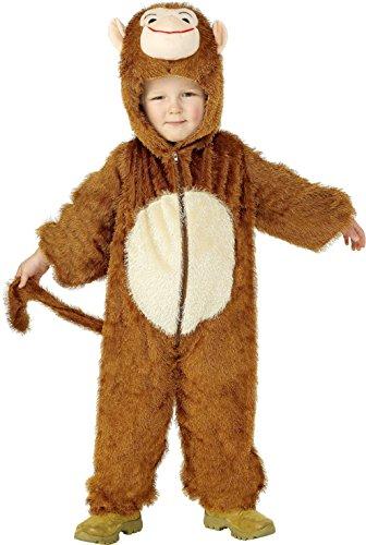 Imagen de smiffys 30800 disfraz de mono para niño, talla 4 6 años
