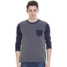 Vudu Men's Slim Fit Casual T-Shirt (TA0056-M)