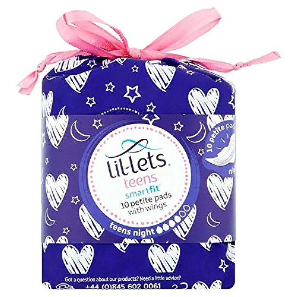 Lil-Lets Teens Ultra-Handtücher Nacht 10 pro Packung
