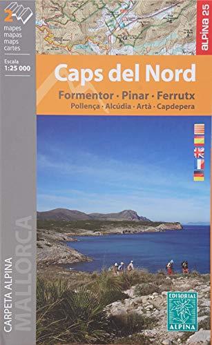 Wanderkarte Caps del Nord 1:25 000 (Weltkarte Cap)