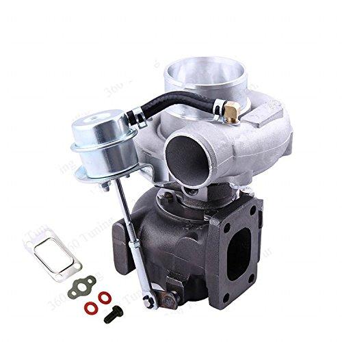 Gowe turbocompressore per gt2870GT28gt2871Turbocharger Turbo SR20CA18DET AR 60turbina a/r .64T250,64a/ractuator flangia Compressore Alloggiamento 5Bulloni