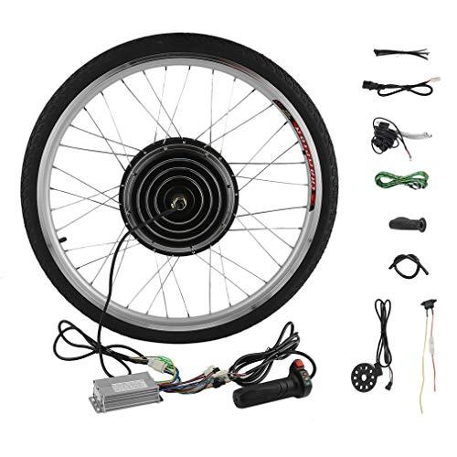 Yesper, kit di conversione per ruota anteriore da 26', 250 W / 36 V, per bicicletta elettrica / con pedalata assistita, con motore a mozzo