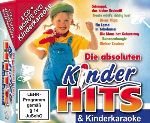 Dvd Kinder Karaoke (Kinder Hits & Karaoke)
