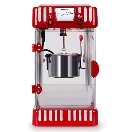 Klarstein Volcano Popcornmaschine Retro-Design mit Innenbeleuchtung - 2