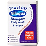 NRS Nilaqua Patient Hygiene Pack with Shampoo Body Wash and Wipes by NRS Healthcare