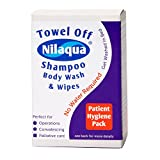 NRS Nilaqua Patient Hygiene Pack with Shampoo Body Wash and Wipes