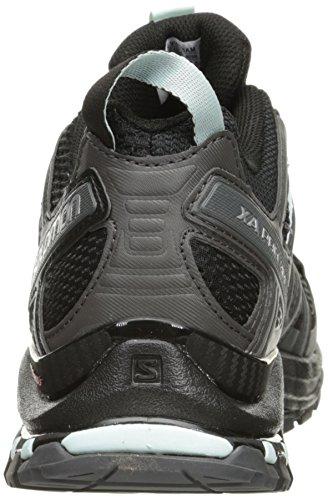 Salomon Xa Pro 3d W, Chaussures de Trail Femme Noir (Black/magnet/fair Aqua)
