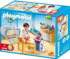 Playmobil 4286 jeu de construction chambre de b b for Maison moderne playmobil 2018