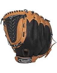Louisville Slugger Gant de baseball/softball 30,5 cm - Gant droit Camel/noir - Beige/noir