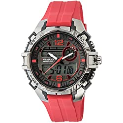 UPhasE Quartz Watch with White Dial Analogue-Digital Quartz Chronograph, 700-180 up