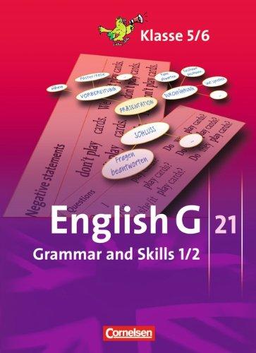 Buchseite und Rezensionen zu 'English G 21 - Ausgaben A, B und D: Band 1/2: 5./6. Schuljahr - Grammar and Skills' von Joachim Blombach