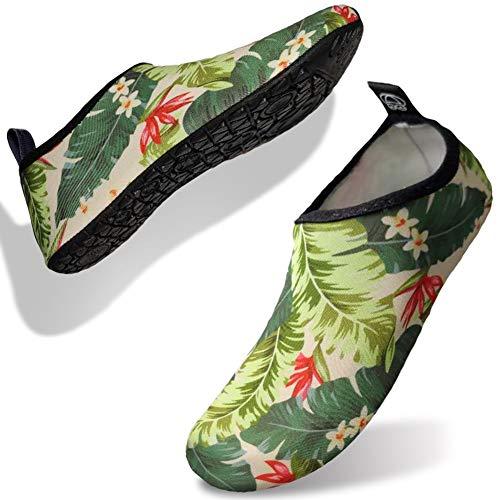 Scarpe da Scoglio, da Surf, da Immersione, da Spiaggia, da Corsa, Scarpe da Snorkeling, Scarpe barefoot, Pantofole da Casa, Scarpe da Yoga per Uomini e Donne, Scarpe da Mare con Suole in Spugna Neopre