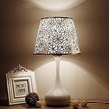 xhopos home lmpara de mesa lmpara de escritorio dormitorio sencillo moderno romntico luz clida decoracin telas