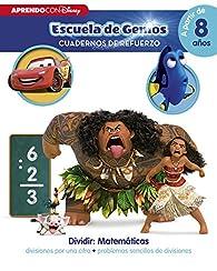 Dividir: Matemáticas: divisiones por una cifra · problemas sencillos de divisiones : par  Disney