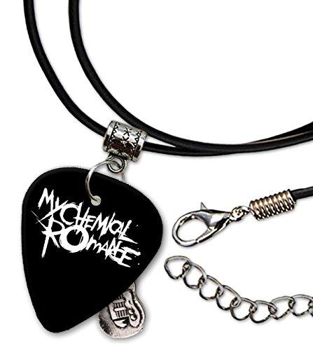 My Chemical Romance Gitarre Plektrum Cord Necklace Halskette (F1)
