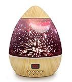 Sternenprojektor/Nachtlicht für Kinder, Kinderzimmer, Baby, mit einem Timer für 5-995 Minuten, automatisches Abschalten, bunte Sterne, rotierende Lampe für Baby und Kinder