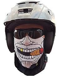 svoki Gangster Foulard Masque Tuyau rigide Protection contre le froid visage masque Halloween Moto Ski Snowboard Vélo chasse pêche Paintball
