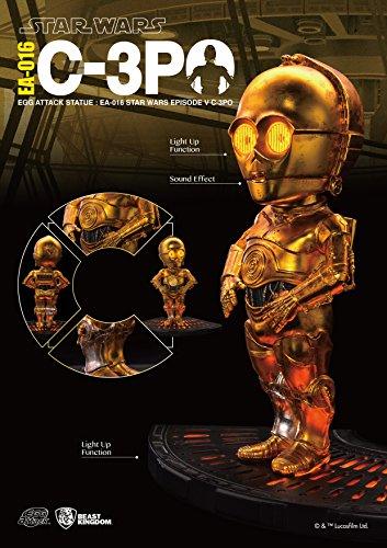 Star Wars Egg Attack Statue mit Sound und Leuchtfunktion C-3PO (Episode V) 13 cm