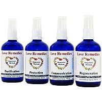 Umweltsprays Set 4 x 100 ml Australische Blütenessenzen Love Remedies preisvergleich bei billige-tabletten.eu