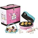 Simeo FC620 Machine à Muffin Rose/Bleu