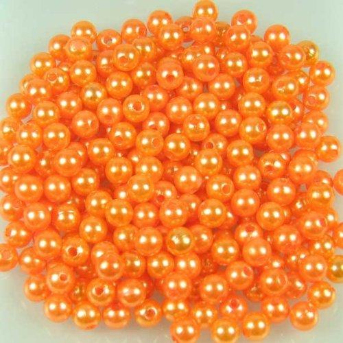 kunstperle-perlen-d-8mm-hochzeit-ca-250-stuck-orange