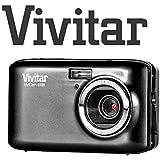 Vivitar E 128 Appareil photo numérique compact 18MP zoom x4 avec écran 2,7pouces Noir