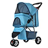 Best Pet Stroller 3 Wheels - CWSTC Pet Stroller Pet Wheelbarrow Medium And Small Review