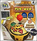 PAC-MAN Gold Edition #4 Namco Collection of 8 Classic Arcade Games - Plug it in & Play!