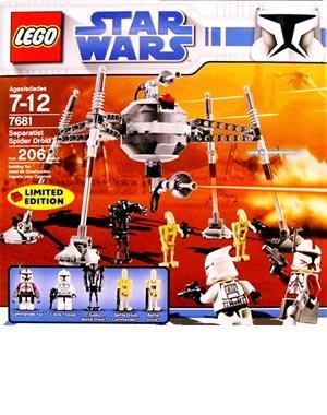 STAR WARS LEGO 7681: SEPARATIST SPIDER DROID