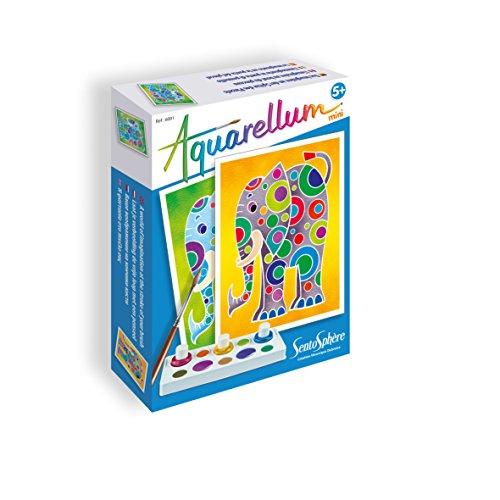 Sentosphère - Aquarellum Mini: Elefantes (0756001)