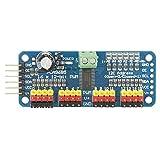 16-Kanal PWM/Servo/Lenkung Motor Drive Board Controller Roboter Motor Driver IIC Modul Passform forsg90MG995