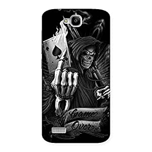 Neo World Ace Skelton Back Case Cover for Huawei Honor Holly