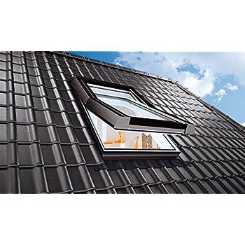 Velux dachfenster ggu schwingfenster 78x118cm mk06 0059 thermo star kunststoff mit - Dachfenster skylight ...