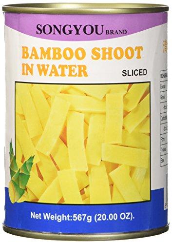 Germogli di bambù in scatola