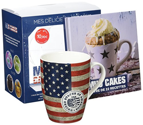 Mes délicieux mug cakes : Avec un mug en porcelaine