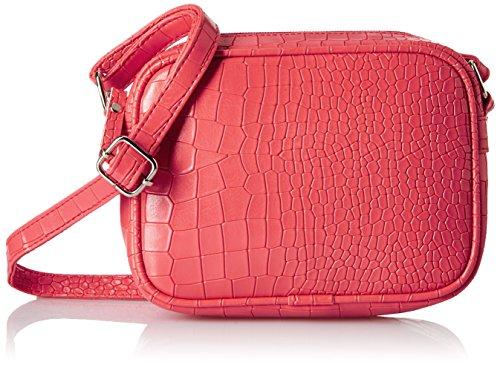 Kanvas Katha Croc Rectangle Women's Sling Bag (Pink) (KKSQSCC003)