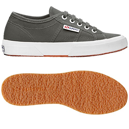Superga Damen 2750-Plus Cotu Low-Top Gris - Grey Sage
