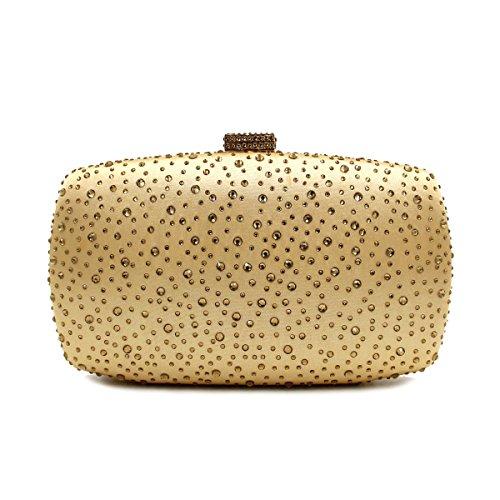 JHS La signora di lusso strass Evening Bag / sacchetto