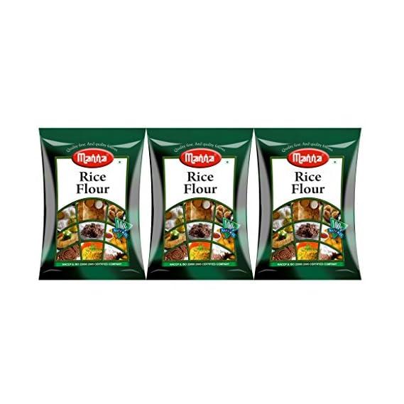 Manna Rice Flour (500g)- Pack of 3