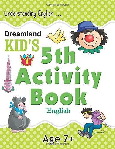 5th Activity Book – English (Kid's Activity Books)