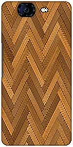 Snoogg Vector Wood Parquet Floor Designer Protective Back Case Cover For Micr...