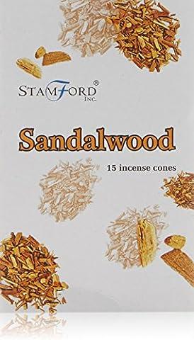 Stamford Sandalwood Incense Cones, Multi-Colour