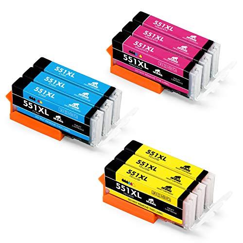 IKONG 551XL Compatible CLI-551 Cartuchos de tinta