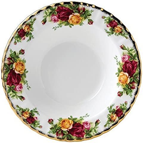 Royal Albert Old Country Roses Rim Soup Bowl by Royal Albert