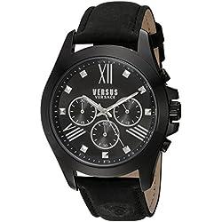 Versus by Versace Herren sbh010015Chrono Löwe Analog Display Quartz Black Watch