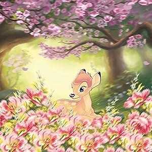 Nintendo DS Case Skin Sticker aus Vinyl-Folie Aufkleber Disney Bambi Geschenke Fanartikel