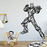 jiushizq Cartoon Wall Stickers Modern Fashion Wall Sticker Home Decoration Living Room Background Wall Art Decal White 58cm X 84cm